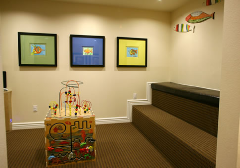 Children friendly lobby